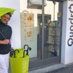 QUADRO bild + rahmen: Foto Leihschirmaktion bülachSTADT mit Mischa Klaus