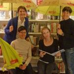 Stadtbibliothek Bülach: Foto 1 Leihschirmaktion bülachSTADT