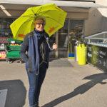 Volg Marktgasse: Leihschirmaktion bülachSTADT