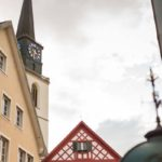 Foto Rathaus und Kirchturm bülachSTADT